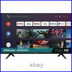 Hisense 40H5580F 40 Full HD LED Android Smart TV, Built-In Google Assistant