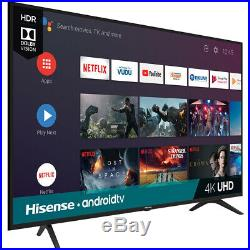 Hisense 50H6590F 50 4K Ultra HD Android Smart TV with Google Assistant & 3 HDMI
