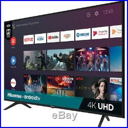 Hisense 55H6590F 55 4K UHD Android Smart TV with Google Assistant & 3 HDMI