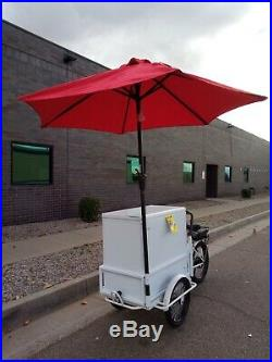 Ice Cream E- Bike, Cold Foods withAssist Motor and Freezer (In Stock) SALE $3,499