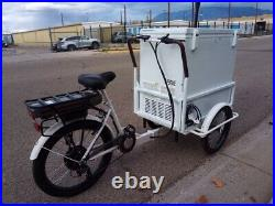 Ice Cream E- Bike withAssist Motor and Freezer $3,499. Ready to ship
