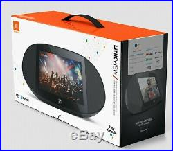 JBL LINK VIEW 8 Virtual Google Assistant Speaker HD Touch Screen