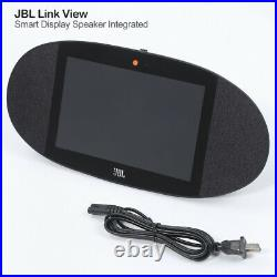 JBL Link View 8 Wireless Smart Speaker Integrated Google Home Assist HD Touch