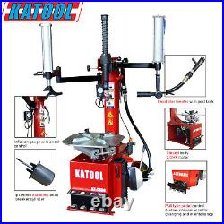 KATOOL Tire Changer KT-T830, 2.0HP Motor, Double Assist Arm, Bead Seater, Garage