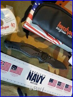Kershaw 1596 Spec Bump Knife S30v Blade Black G10 USA Made Dated Rare New In Box
