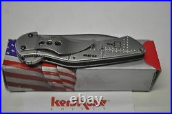 Kershaw Junkyard Dog 1720st Serrated Blade Made In USA Early Release On Aug 07