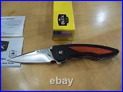 LIMITED EDITION BUCK KNIFE 290 /292 SPRING ASSIST 1 of 99 TOTAL PRODUCTION RUN