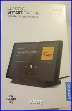 Lenovo Smart Tab M8 2-in1 Portbale WIFI Tablet -With Google Assistant -BRAND NEW