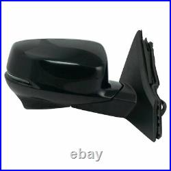 Mirror Power Heated Turn Signal Lane Assist Camera RH Side for Accord Coupe
