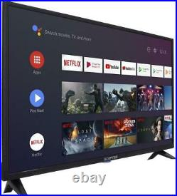 NEW 32 inch Class HD Android Smart STREAMING LED TV with Google Assistant