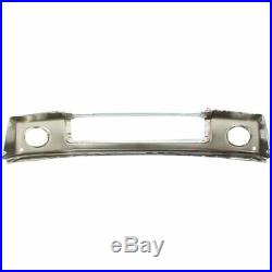 NEW Chrome Steel Front Bumper for 2007-2013 Toyota Tundra Truck With Park Assist