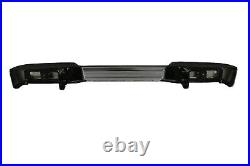 NEW Chrome Steel Rear Bumper Assembly for 2012-2017 Nissan NV with Park Assist