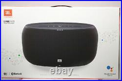 NEW JBL Link 500 Voice-Activated Bluetooth Speaker with Google Assistant Black
