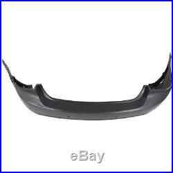 NEW Painted To Match- Rear Bumper Cover For 2011-2015 Chevy Cruze with Park Assist