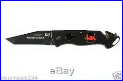 NICE Heckler Koch Hershaw Tanto Tactical Rescue Survival HK Knife EDC Army EMT
