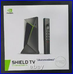 NVIDIA Shield TV Pro 4K UHD Streaming Media Player with Google Assistant black