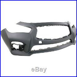 New Bumper Cover Facial Front for Infiniti Q50 2014-2017 IN1000258 620224HD0H