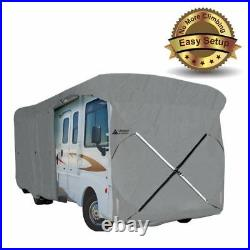 New Easy Setup Class A RV Cover Fits Motorhome 37'-40' with Assist Pole