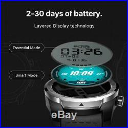 New TicWatch Pro Layered Display NFC Payment Google Assistant Metal Black