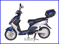 New X-Treme XB-504 Electric Scooter Moped Rear Hub Power Assist, eBike, Blue