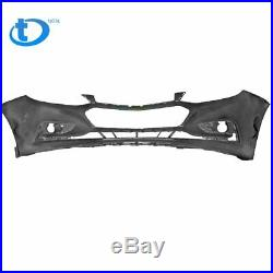 Primered Front Bumper Cover for 2016 2017 2018 Chevy Cruze witho Park Assist