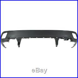Rear Lower Bumper Cover For 2014-2016 Toyota Highlander Textured