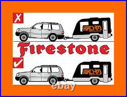 Rear Std Firestone Coil Rite Air Suspension Assist Bags For Ford Territory Sy Sz