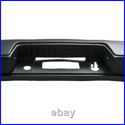 Rear Step Bumper Assembly WithO Park Assist Sensors for Chevy Silverado 1500 14-18