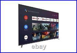 Sceptre 65 Class TV (2160p) Android Smart 4K LED TV with Google Assistant HDR