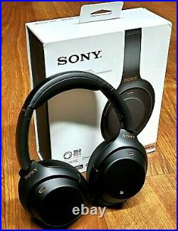 Sony WH-1000XM3 Bluetooth Wireless Noise Canceling with Google Assistant BLACK