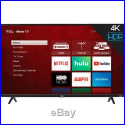 TCL 50S425 50 4-Series Roku 4K UHD LED Smart TV with Alexa & Google Assistant