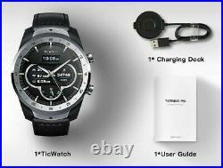 TicWatch Pro Layered Display NFC Payment Google Assistant Silver Int'l Version