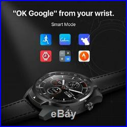 TicWatch Pro Smart Watch Layered Display NFC Payment Google Assistant Black
