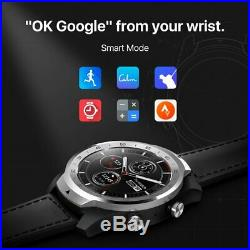 TicWatch Pro Smart Watch Layered Display NFC Payment Google Assistant Silver