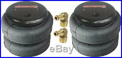 Tow Assist Air Bag Over Load withOn Board Air Tank 2001-10 Chevy 2500 3500 Truck