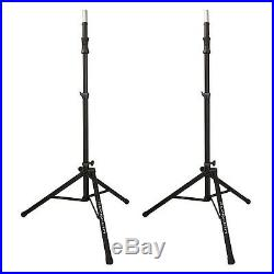 Ultimate Support TS-100B Lift-assisted Aluminum Tripod Speaker Stands Pair