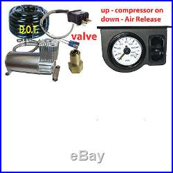 V Tow Assist Control In Cab Air Height Control & Paddle Switch Gauge DC100